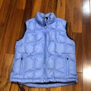 Obermeyer Blue Down Filled Vest. Women's Size 6